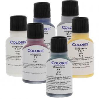 Wasserfeste Stempelfarben Coloris 50gr