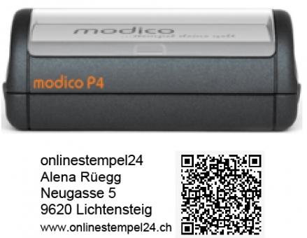 modico P4 schwarz QR 57x20mm