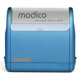 "modico 3 blau 49x15mm <span style=""color:blue"">blau</span>"