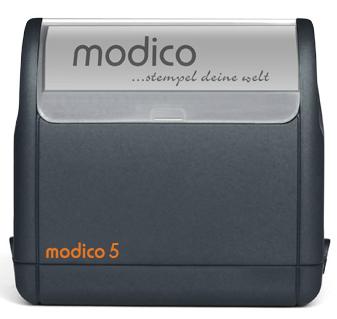 modico 5 schwarz 63x24mm schwarz