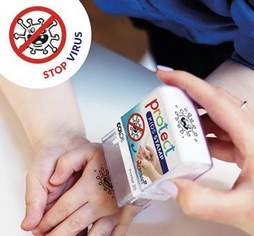 Protect Kids Stamp Handwaschstempel